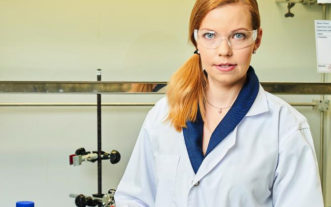 Tartu Ülikooli materjalide keemia kaasprofessoril Kaija Põhako-Esko.