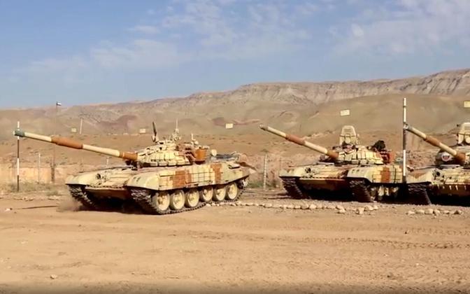Vene tankid Tadžikistanis