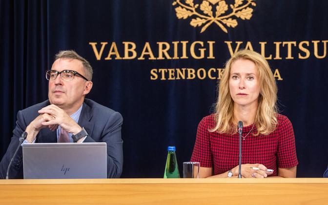 Valitsuse pressikonverents: Andres Sutt ja Kaja Kallas