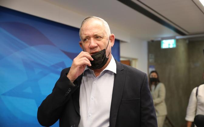 Iisraeli kaitseminister Benny Gantz