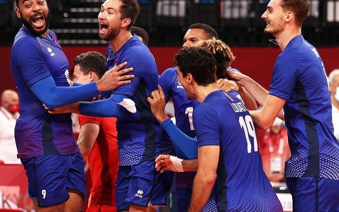 Prantsusmaa võrkpallikoondis