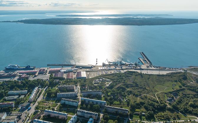Северный порт Палдиски.