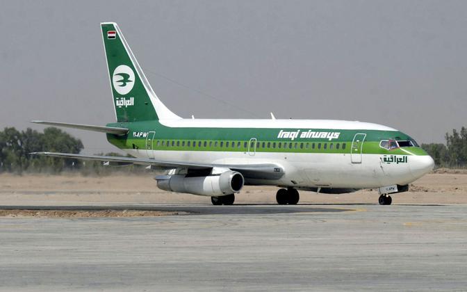 Самолет Iraqi Airways.