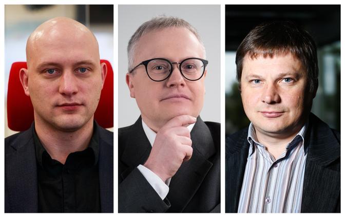 Huko Aaspõllu, Sulev Vedler and Aivar Hundimägi.