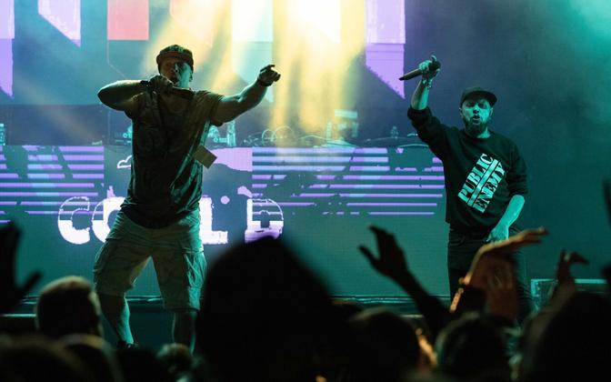 Kozy ja Cool D Eesti Hiphop festivalil