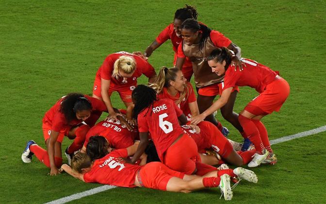 Kanada naiste jalgpallikoondis