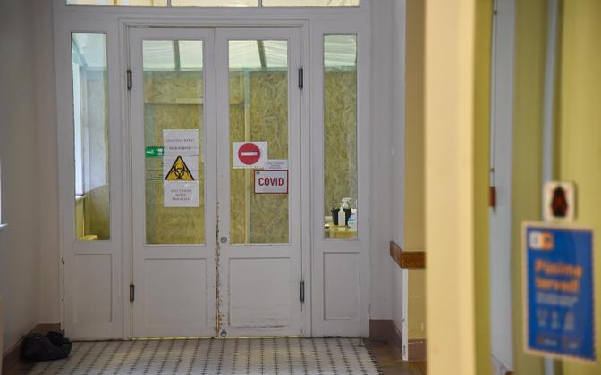 Koridor Narva haiglas.