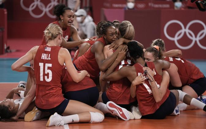 USA naiste võrkpallikoondis