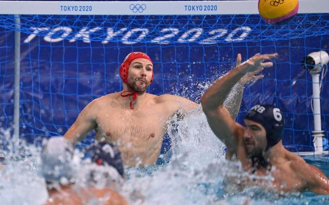 Serbia-Kreeka kohtumine olümpiafinaalis