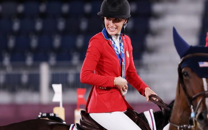 Hõbemedali võitnud Jessica Springsteen