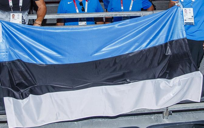 In the event, the Estonian blue-black-white was hoisted twice at a medals ceremony in Tokyo, in the women's individual and team epee (fencing) events.