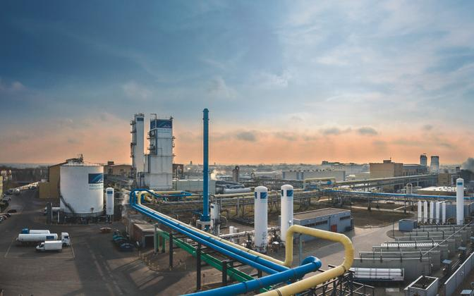 Industrial gas production plant in Leuna, Germany (photo is illustrative).