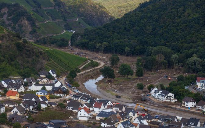 Üleujutuse tagajärjed Saksamaal