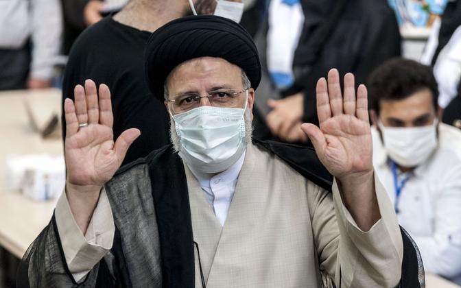 Iraani uus president Ebrahim Raisi.