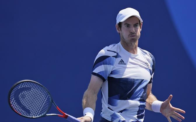 Andy Murray Tokyo olümpiamängudel