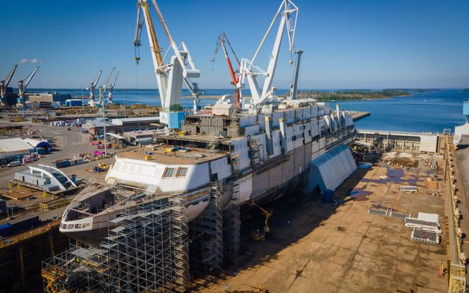 Tallinki süstiklaeva MyStar.