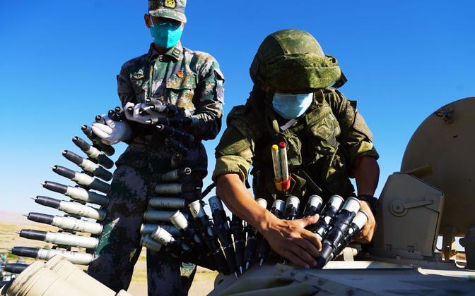Hiina ja Venemaa sõjaväelased