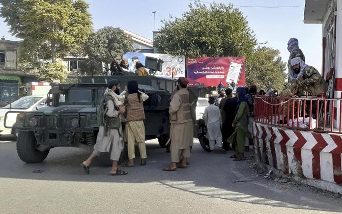 Talibani võitlejad