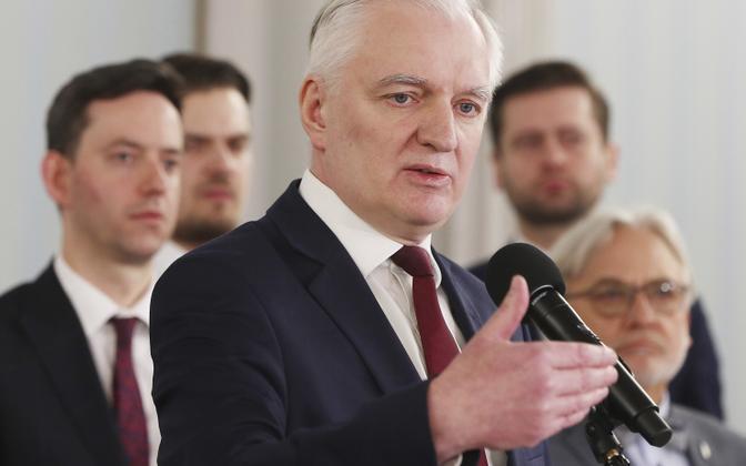 Jaroslaw Gowin.