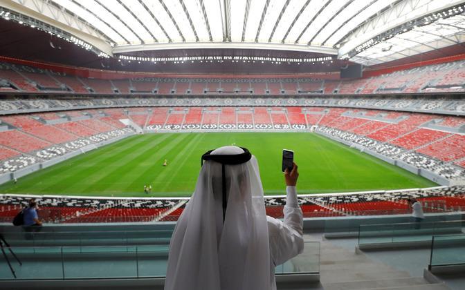 Al Bayti staadion Kataris, kus peetakse 2022. aasta MM-finaalturniir