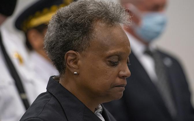Chicago linnapea  Lori Lightfoot