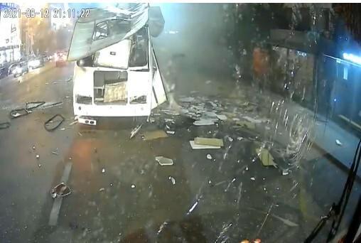 Взрыв автобуса в Воронеже.