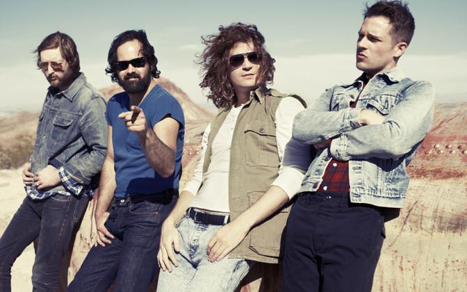 Ameerika rokkbänd The Killers.