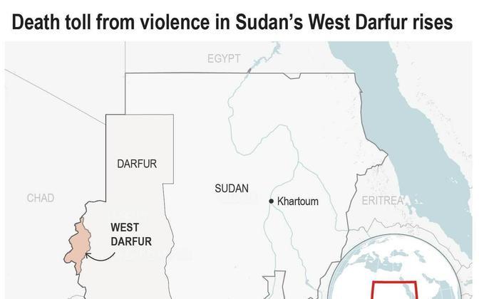 Sudaani kaart