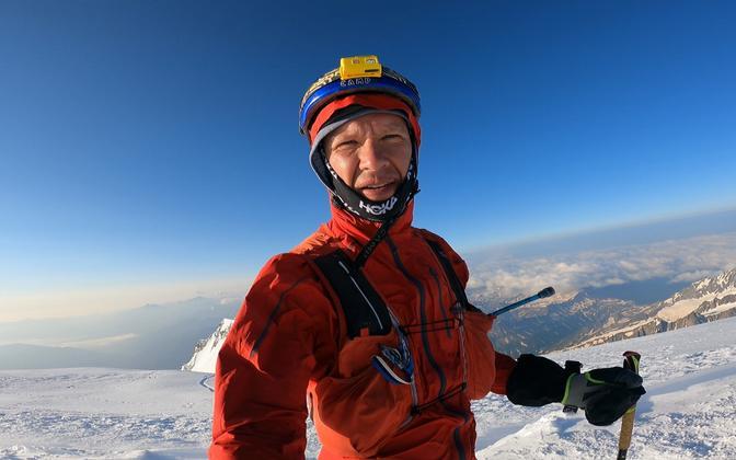 Leivo Sepp üliraskel katsumusel joosta Mont Blanci tippu ja tagasi