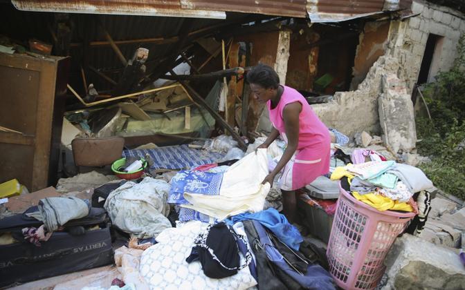 В результате землетрясения на Гаити разрушены около 1500 зданий, повреждены свыше 5000.