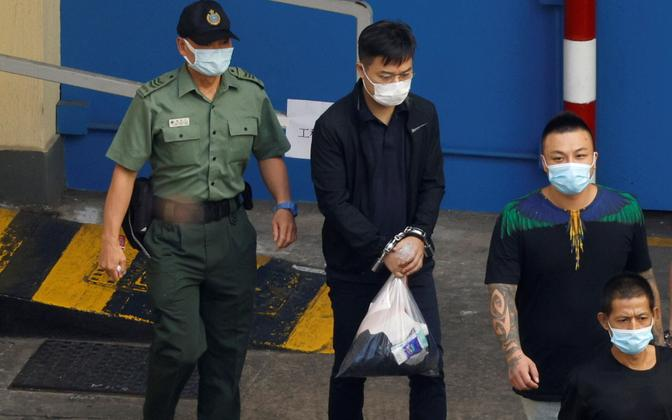 Hongkongis ilmuva Apple Daily endine peatoimetaja Ryan Law vahistati süüdistatuna välisriigi heaks töötamises 13. augustil.