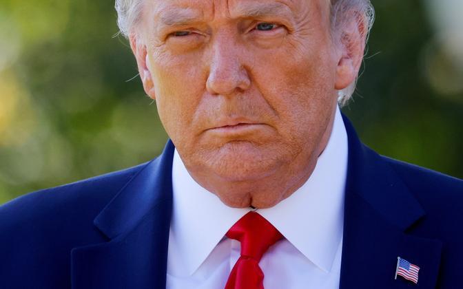 Бывший президент США Дональд Трамп.