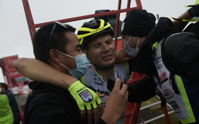 Emotsionaalne Rein Taaramäe finišis Vuelta etapivõitjana