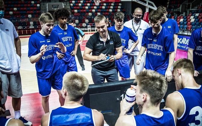 Eesti U-18 noormeeste korvpallikoondis
