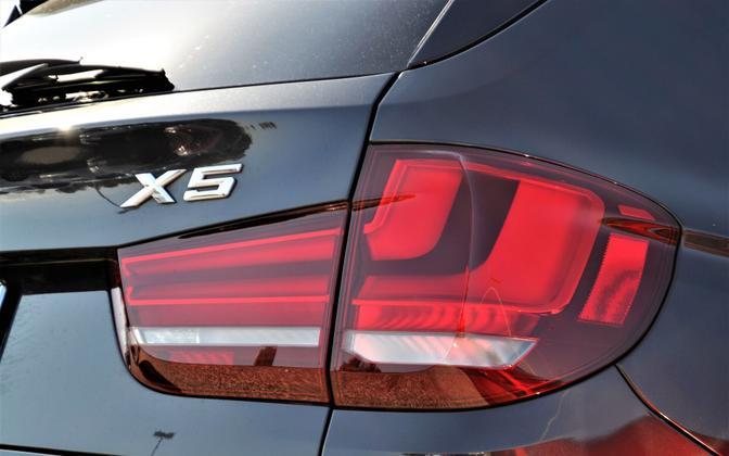 BMW X5. Иллюстративная фотография.
