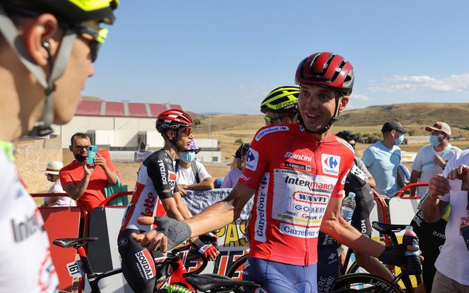 Rein Taaramäe oli Vuelta neljanda etapi järel heas tujus
