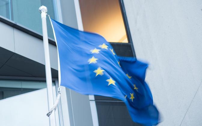 Euroepan Union flag.