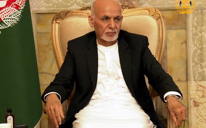 Afganistani endine president Ashraf Ghani