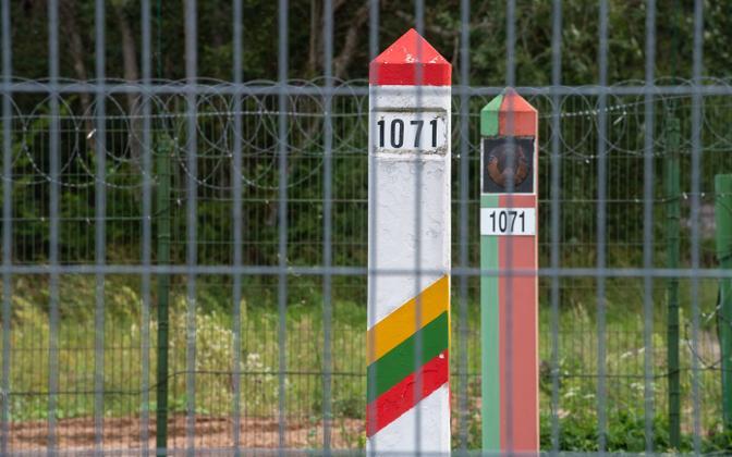 Lithuanian-Belarusian border.