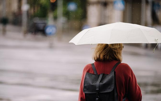 В ближайшее время в Эстонии будет дождливо.