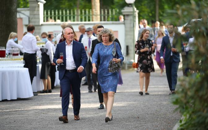 Президентский прием в Розовом саду в 2020 году..