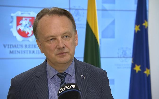 Leedu asesiseminister.