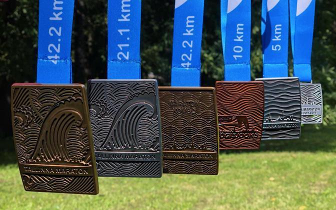 2021. aasta Tallinna Maratoni medalid
