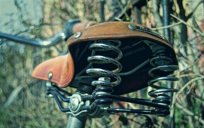Велосипед. Иллюстративная фотография.