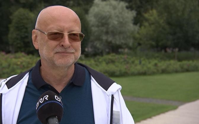Leedu ajakirjanik Rimvydas Valatka.