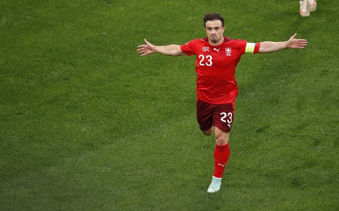 Xherdan Shaqiri osales Šveitsi koondisega ka suvistel Euroopa meistrivõistlustel.