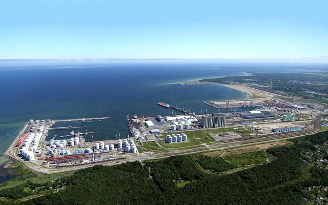 Порт в Мууга.