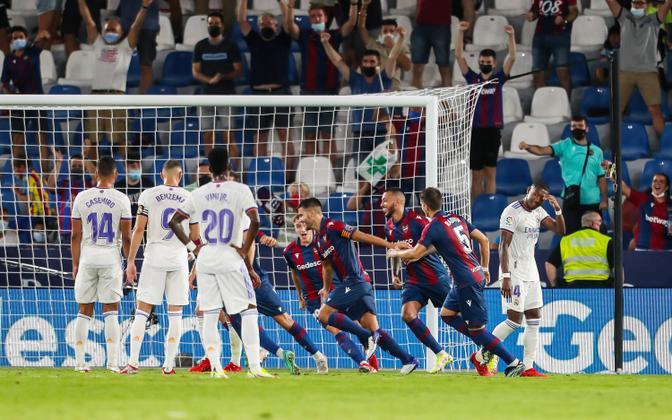 Levante - Madridi Real