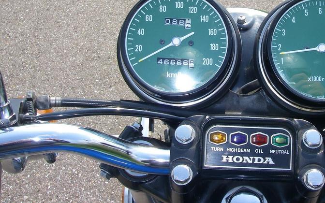 Мотоцикл Honda. Иллюстративная фотография..
