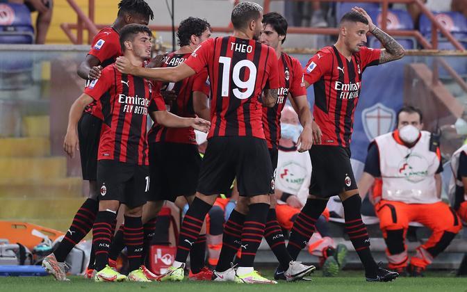 AC Milani mängijad.